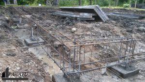 Gręžtiniai pamatai, pamatų įrengimas, liejame klojame pamatus namui (3)