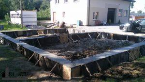 Gręžtiniai pamatai, pamatų įrengimas, liejame klojame pamatus namui (4)